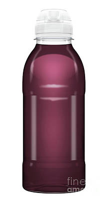 Sports Royalty-Free and Rights-Managed Images - Sports Vitamin Drink Plastic Bottle by Allan Swart