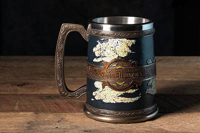 Photograph - Tankard From Game Of Thrones Series by Steven Heap