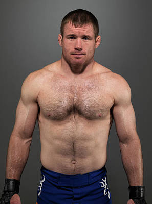 Photograph - Ufc Fighter Portraits by Josh Hedges/zuffa Llc
