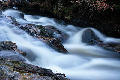Photograph - Warme Bode, Harz by Andreas Levi