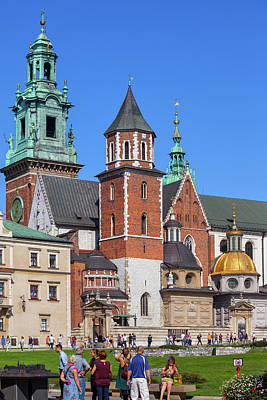 Photograph - Wawel Cathedral In Krakow by Artur Bogacki