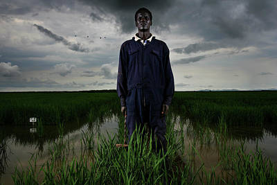 Photograph - World Economic Forum Business Alliance by Brent Stirton