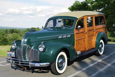 Photograph - 40 Pontiac Woody by Bill Dutting