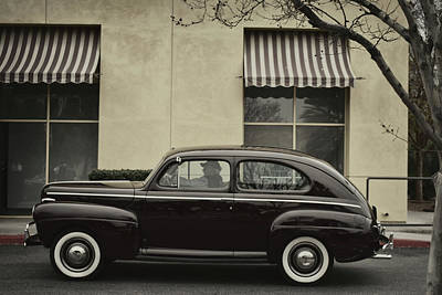 Photograph - 41 Ford Sedan by Bill Dutting