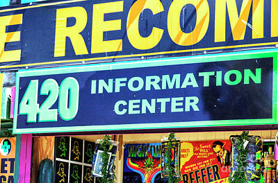 Photograph - 420 Information Center Venice Beach by John Rizzuto