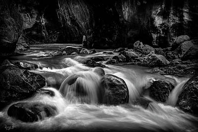Photograph - Box Canyon Falls by Richard Raul Photography
