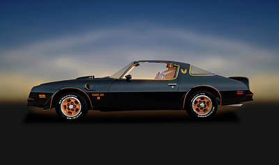 Photograph -  455 Cubic Inch V-8 T-top  -  76pontiacfirebirdtransam455196291 by Frank J Benz