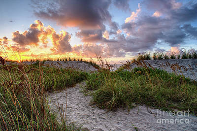 Photograph - 48th Ave. Sunrise North Myrtle Beach by David Smith