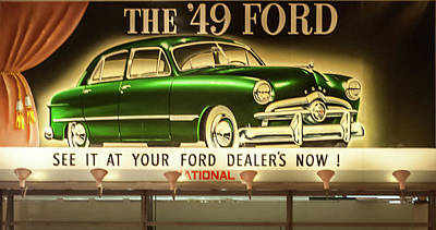 Photograph - 49 Ford by Stewart Helberg