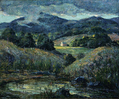 Patriotic Signs - Approaching Storm by Ernest Lawson