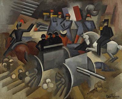 Painting - Artillery by Roger de La Fresnaye