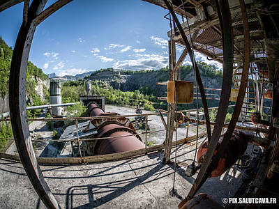 Photograph - Cement plant by Pix Salutcava