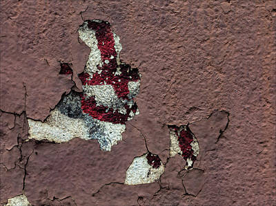 Photograph - Cracked And Peeling Paint by Robert Ullmann