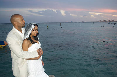 Photograph - Destination Dominican Republic Wedding by Kenny Thomas