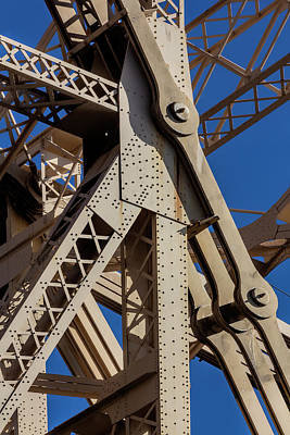 Photograph - Detail - 59th Street Bridge by Robert Ullmann