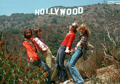 Photograph - Fleetwood Mac In Hollywood by Michael Ochs Archives