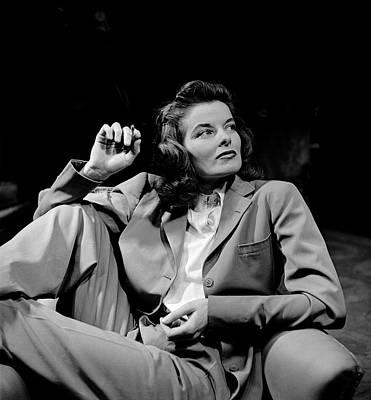 Photograph - Katharine Hepburn by Alfred Eisenstaedt