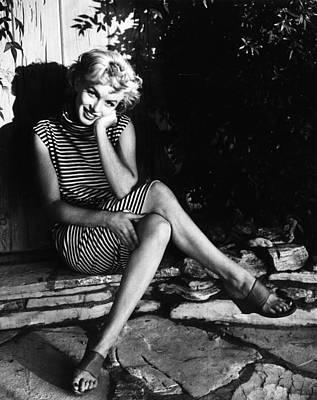 Photograph - Marilyn Monroe by Baron