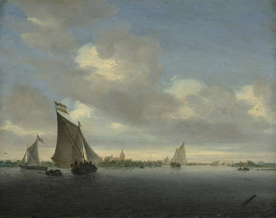Painting - Marine by Salomon van Ruysdael