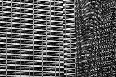 Photograph - Office Buildings by Robert Ullmann