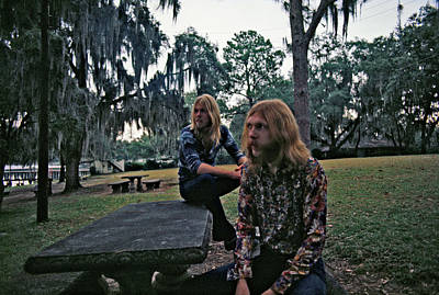 Photograph - Photo Of Allman Brothers by Michael Ochs Archives