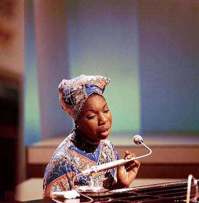 Photograph - Photo Of Nina Simone by David Redfern