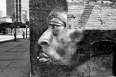 Photograph - 5 Pointz Grafitti Art 7 - B And W         by Allen Beatty