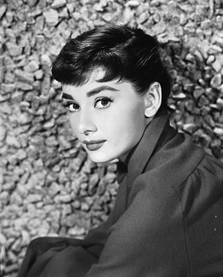 Photograph - Portrait Of Audrey Hepburn by Hulton Archive