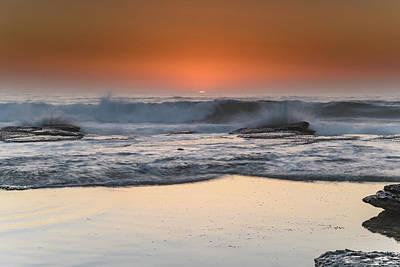 Photograph - Sunrise At The Beach by Merrillie Redden
