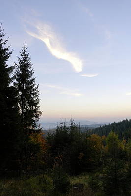 Photograph - Sunset In The Mountains by Joanna Machel