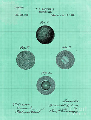Royalty-Free and Rights-Managed Images - Tenpin Ball Vintage Patent Year 1897 Classic Game Vintage Game by Drawspots Illustrations