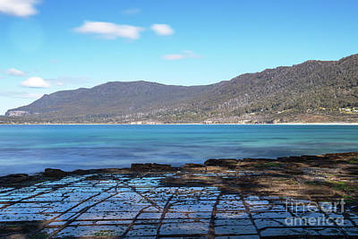 Photograph - Tessellated Pavement In Pirates Bay. by Rob D
