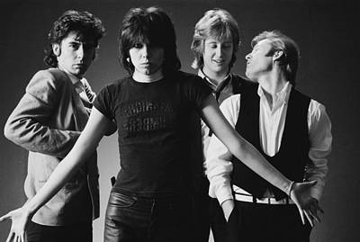 Photograph - The Pretenders by Fin Costello