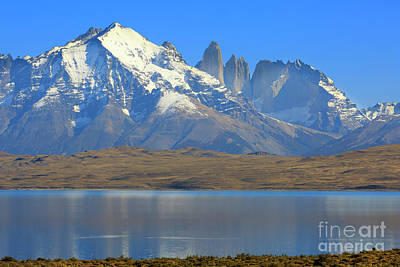 Photograph - Torres Del Paine National Park In Patagonia Chile by Louise Heusinkveld