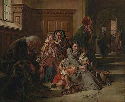 Painting - Waiting For The Verdict by Abraham Solomon