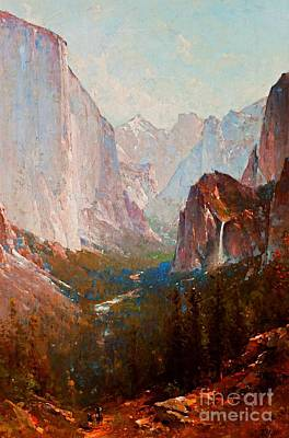 Painting - Yosemite by Thomas Hill