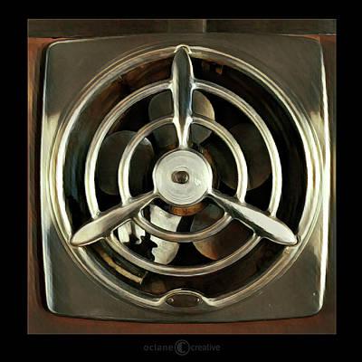 Photograph - 50s Kitchen Fan by Tim Nyberg
