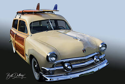 Photograph - 51 Ford Surf Wagon by Bill Dutting