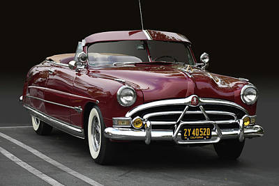 Photograph - 51 Hudson Hornet by Bill Dutting
