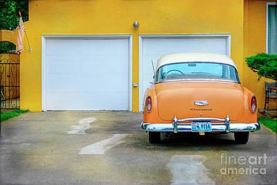 Photograph - 54 Belair Chevrolet by Craig J Satterlee