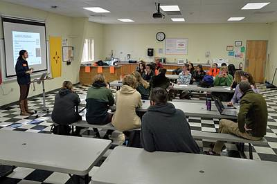 Photograph - In The Classroom by Ron Cline
