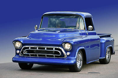Photograph - 57 Chevy Pickup by Bill Dutting