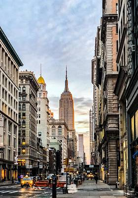 Photograph - 5th Avenue Morning by Cate Franklyn