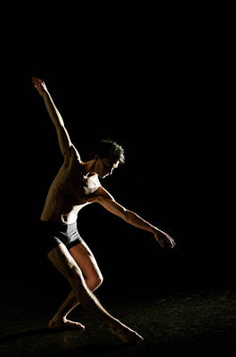 Photograph - Ballet And Contemporary Dancers by John Rensten
