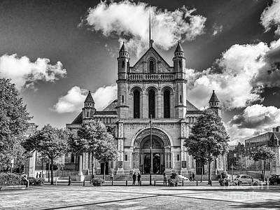 Photograph - Belfast Cathedral, St. Anne's by Jim Orr