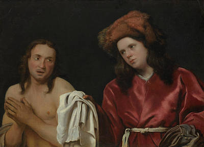 Painting - Clothing The Naked by Michiel Sweerts
