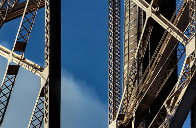 Photograph - Detail - 59th Street Bridge by Robert Ullmann