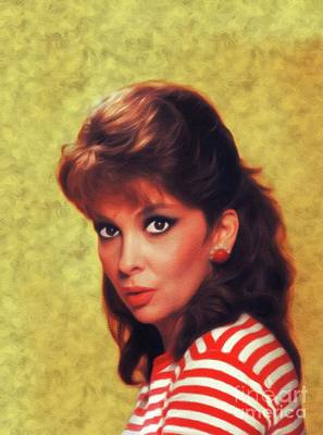 Royalty-Free and Rights-Managed Images - Gina Lollobrigida, Vintage Movie Star by Esoterica Art Agency