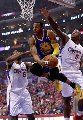 Photograph - Golden State Warriors V Los Angeles by Stephen Dunn