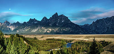 Studio Grafika Patterns Rights Managed Images - Grand Teton mountains scenic view  Royalty-Free Image by Alex Grichenko